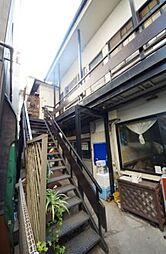 東京都新宿区信濃町の賃貸アパートの外観