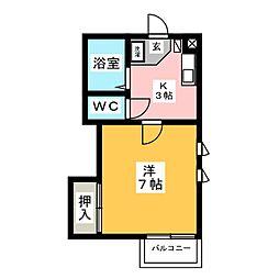 どーむSAKURA[1階]の間取り