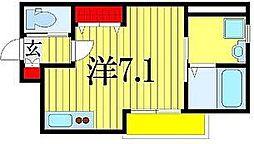 CASA RAILWAY SIDE[1階]の間取り