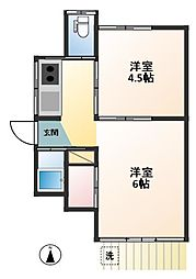飯岡方[1階]の間取り