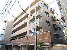 1、マンション外観(平成15年1月築、鉄筋コンクリート造地下1階付5階建、オートロック、エレベーター)