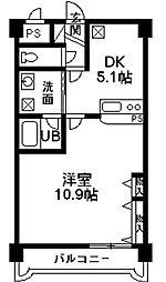 マンショングレイス[5階]の間取り