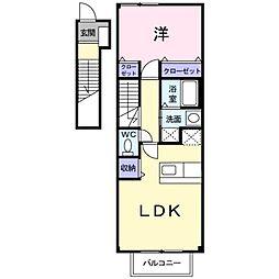 フォレストヒルズ2号館[2階]の間取り