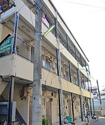 朝日マンション[1階]の外観