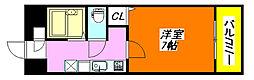 カサベルデ・小阪 604号室[6階]の間取り