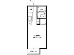 カナールハイム[2階]の間取り