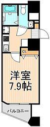 メイクスデザイン入谷[8階]の間取り