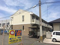 福岡県北九州市小倉南区下曽根4丁目の賃貸アパートの外観