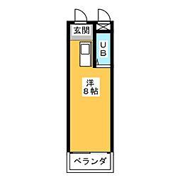 愛知県名古屋市守山区天子田1丁目の賃貸マンションの間取り