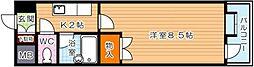 コンドミニアム穴生駅前[8階]の間取り