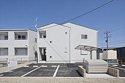 埼玉県鴻巣市下忍の賃貸アパートの外観