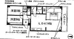 ノーメル香南[1階]の間取り