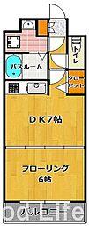 KT大濠[7階]の間取り