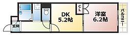 パレスNADA[2階]の間取り