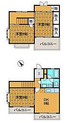 カペナウムハイツ成瀬[2階]の間取り