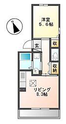イモービリアーレ・タンタン I棟[3階]の間取り