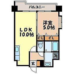 ヨシカワマンション高城[801号室]の間取り