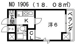 寺田町駅 3.8万円