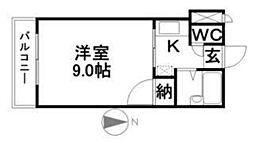 ロジェ倉敷[503号室]の間取り