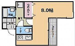 エクセレント和泉町[11階]の間取り