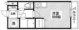 神奈川県横浜市青葉区美しが丘5丁目の賃貸アパートの間取り