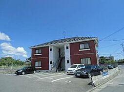 山口県山陽小野田市大字東高泊の賃貸アパートの外観