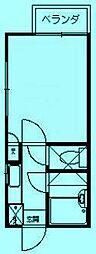 ハーフムーンMOCHI[1階]の間取り