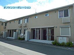 兵庫県三木市芝町の賃貸アパートの外観