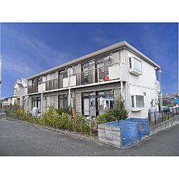 福島県郡山市開成4丁目の賃貸アパートの外観
