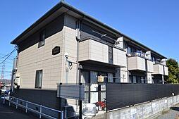 東京都日野市平山3丁目の賃貸アパートの外観