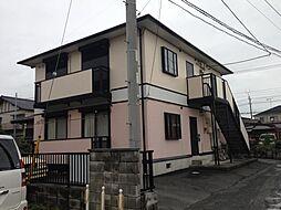 茨城県水戸市赤塚2丁目の賃貸アパートの外観