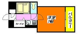 小阪・ヴィラデステ 503号室[5階]の間取り