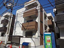 大阪府大阪市住吉区山之内3丁目の賃貸アパートの外観