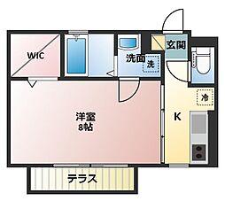 グランシャリオ貴崎II[2階]の間取り