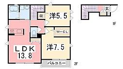 亀山駅 7.6万円