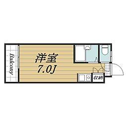 千葉県成田市飯田町の賃貸アパートの間取り