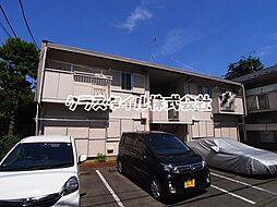 神奈川県相模原市南区文京1丁目の賃貸アパートの外観