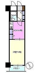 ライオンズプラザ茅ヶ崎[6階]の間取り