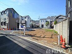 ネオクレステ世田谷野沢1期現地全景・更地 2018/06/03撮影