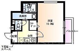 フジパレス堺北花田2番館[1階]の間取り