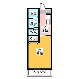 ステーションサイド[2階]の間取り