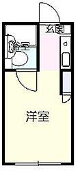 Casa Fresco[2階]の間取り