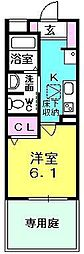 シャーメゾン津門[103号室]の間取り