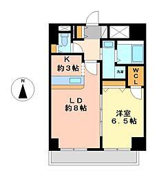 エービーシーサクラガーデン(ABCサクラガーデン)[5階]の間取り