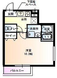 フジパレス堺鳳東6番館[105号室]の間取り