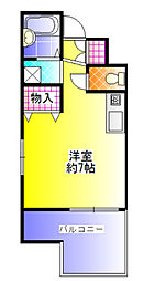 UEDA BUILDING[306号号室]の間取り
