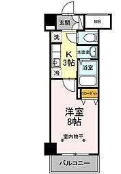 仮)川崎大師レジデンス[5階]の間取り