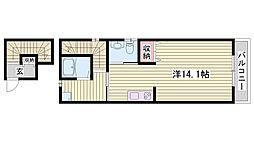 神鉄粟生線 恵比須駅 徒歩9分