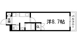 ザ・レジデンス石橋[2階]の間取り