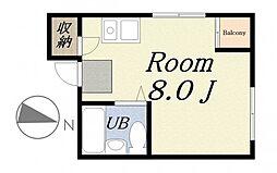 Lilac Part I[4階]の間取り